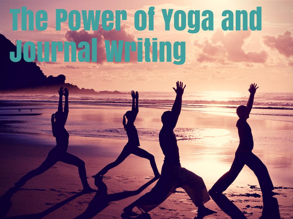 journal writing and yoga